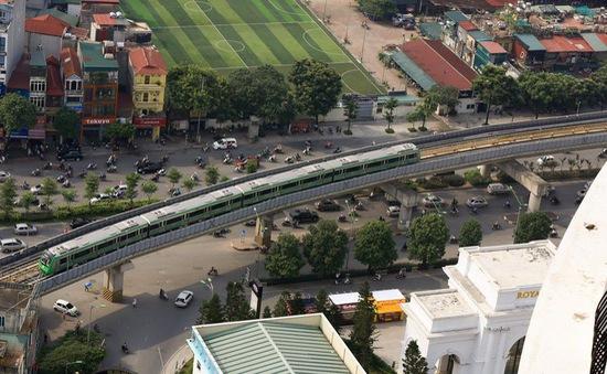 Đường sắt Cát Linh - Hà Đông đang nghiệm thu từng phần