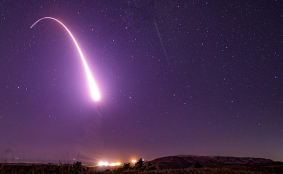 Mỹ thử thành công tên lửa đạn đạo liên lục địa Minuteman III