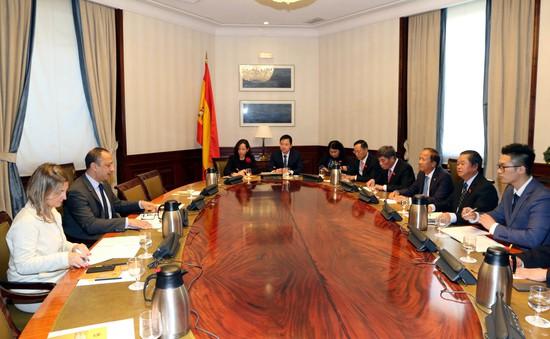 Tăng cường hợp tác Việt Nam - Tây Ban Nha