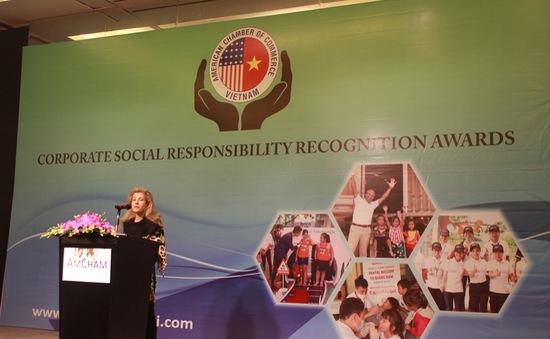Vinh danh giải thưởng trách nhiệm xã hội của doanh nghiệp