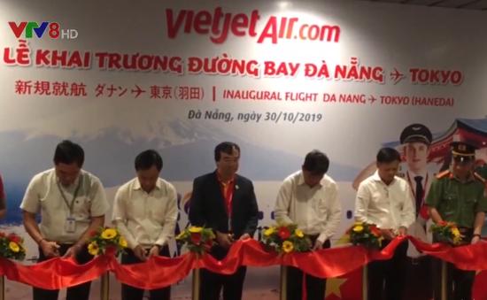 Đà Nẵng khai thác thêm đường bay mới Nhật Bản