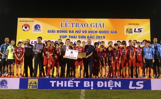 Giải Bóng đá nữ VĐQG 2019: Vượt qua Phong Phú Hà Nam, CLB Hà Nội giành ngôi á quân