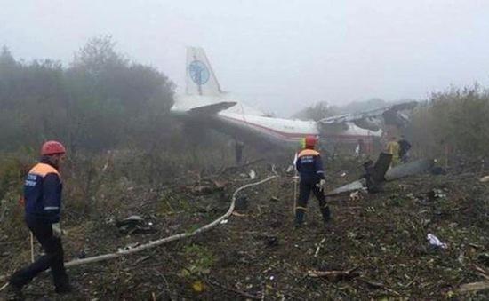 Rơi máy bay vận tải tại Ukraine, ít nhất 6 người thương vong