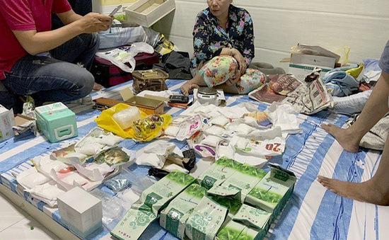 Phá đường dây vận chuyển ma túy từ Campuchia về TP.HCM tiêu thụ