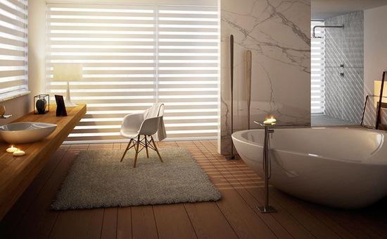 Mẫu bồn tắm đẹp sang trọng, hiện đại