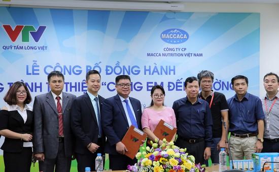 Quỹ Tấm lòng Việt và Macca Nutrition Việt Nam chung tay hỗ trợ học sinh nghèo hiếu học