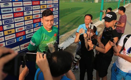 """Đặng Văn Lâm: """"Toàn đội phải tập trung 100% mới có thể thắng được Malaysia"""""""