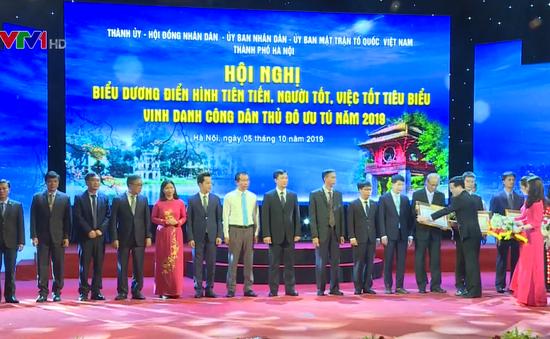 Hà Nội vinh danh 10 Công dân Thủ đô ưu tú năm 2019