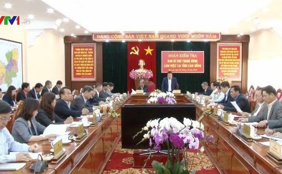 Lâm Đồng tiếp tục tăng cường công tác xây dựng Đảng