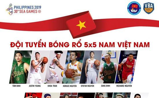 Đội tuyển bóng rổ Việt Nam lên danh sách sơ bộ dự SEA Games 30