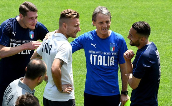 Image result for italia football team mancini