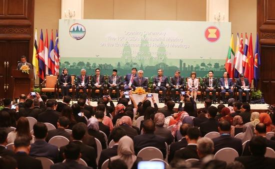 Khai mạc Hội nghị Bộ trưởng Môi trường ASEAN lần thứ 15