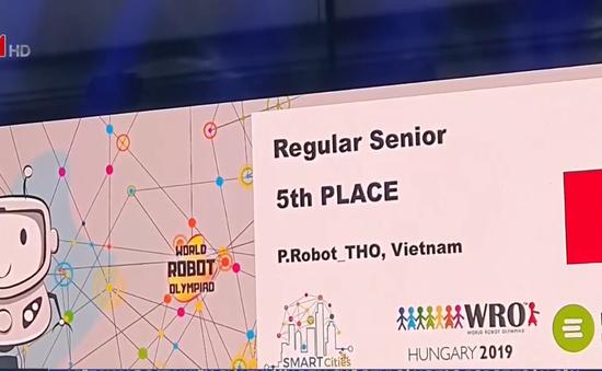 Việt Nam đoạt nhiều giải thưởng tại cuộc thi sáng tạo robot toàn cầu