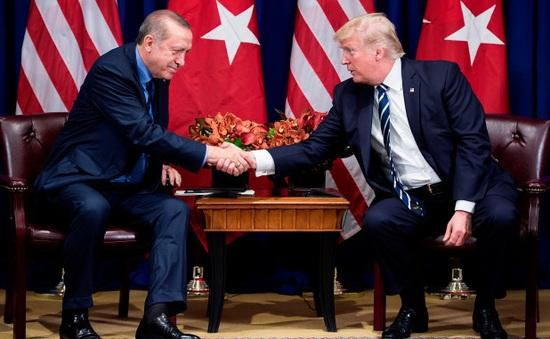 Tổng thống Thổ Nhĩ Kỳ thăm Mỹ