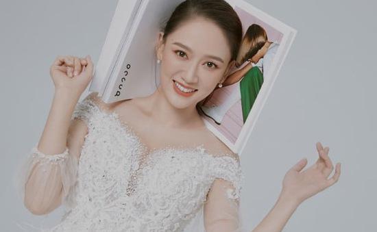 Trần Kiều Ân hóa cô dâu xinh đẹp