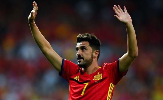 David Villa chính thức nói lời chia tay với sự nghiệp cầu thủ