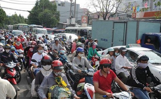 TP.HCM tiếp tục ô nhiễm không khí nặng