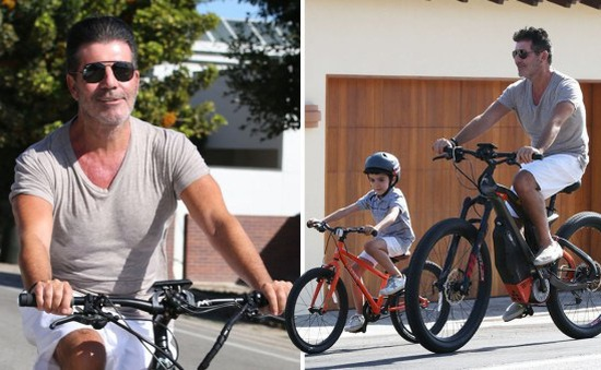 Ông trùm Simon Cowell trở thành ông bố tốt hơn sau khi giảm cân