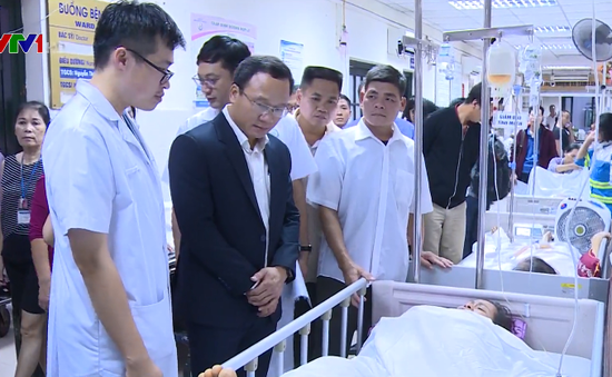 70% bệnh nhân thương tích tại Bệnh viện Việt Đức do tai nạn giao thông