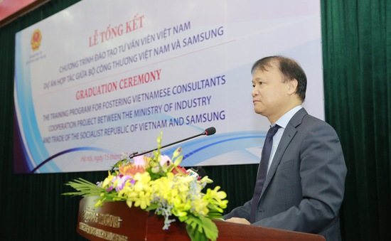 Đào tạo 207 chuyên gia tư vấn Việt trong lĩnh vực cải tiến sản xuất và nâng cao chất lượng doanh nghiệp