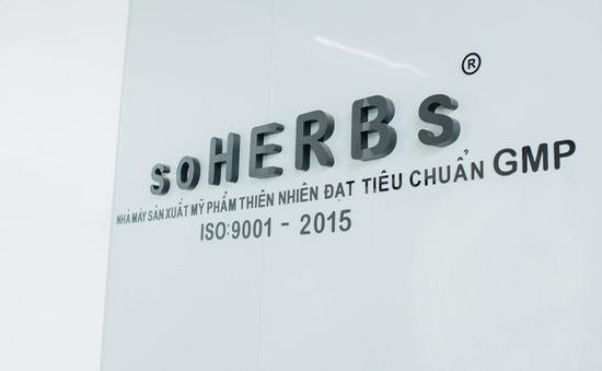 Mỹ phẩm Soherbs khẳng định niềm tin với chứng nhận ISO 9001:2015