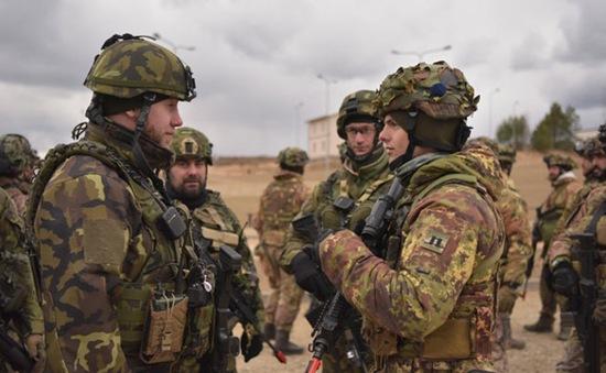 NATO tập trận tại Litva
