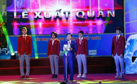 """Bộ trưởng Bộ VHTTDL Nguyễn Ngọc Thiện: """"Chúc các VĐV thi đấu bình tĩnh, dũng cảm và mưu trí"""""""