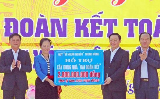 Phó Thủ tướng Vương Đình Huệ dự Ngày hội Đại đoàn kết tại Nghệ An