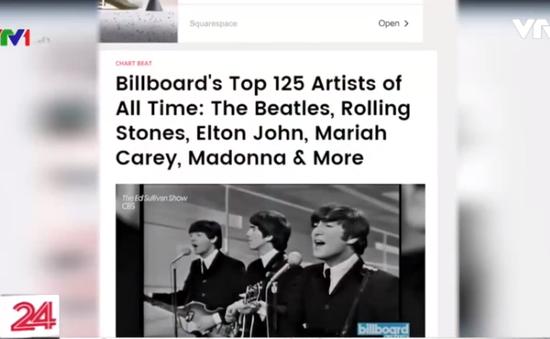 Billboard công bố danh sách nghệ sĩ âm nhạc nổi bật nhất mọi thời đại