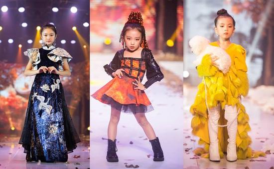 Gần 200 mẫu nhí tỏa sáng trong chương trình thời trang Thu Đông