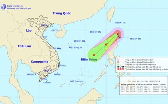 Bão Kalmaegi suy yếu nhanh thành áp thấp nhiệt đới