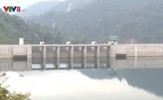 Mực nước các hồ chứa ở Quảng Nam ở mức thấp