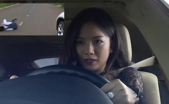 Đánh cắp giấc mơ - Tập 44: Hải Vân liều mạng tông xe vào Khánh Quỳnh, anh Bình chạy ra đỡ thay
