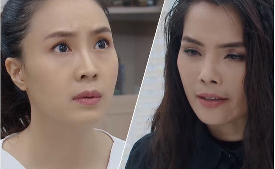 Hoa hồng trên ngực trái - Tập 31: Khuê hoảng hồn khi Dung tuyên bố Thái nợ Dung hai mạng người