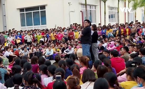 Vụ ngộ độc khí tại Công ty TNHH Da giày Lợi Tín: Công nhân tiếp tục đình công
