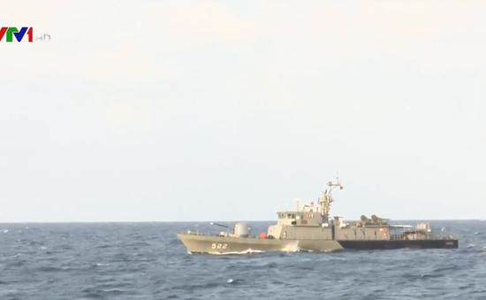 Hải quân Việt Nam - Thái Lan tuần tra chung