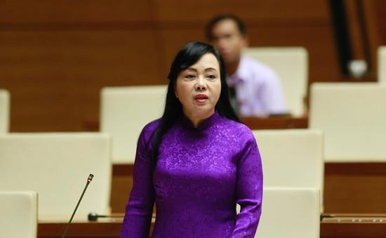 Hôm nay (22/11), Quốc hội phê chuẩn việc miễn nhiệm Bộ trưởng Bộ Y tế Nguyễn Thị Kim Tiến