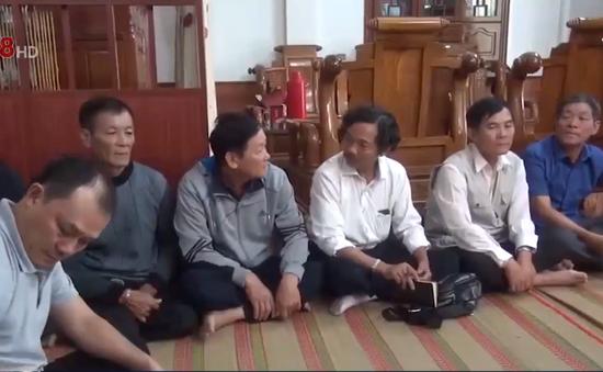 Quảng Bình: Hỗ trợ gia đình thuyền viên gặp nạn ở Hàn Quốc