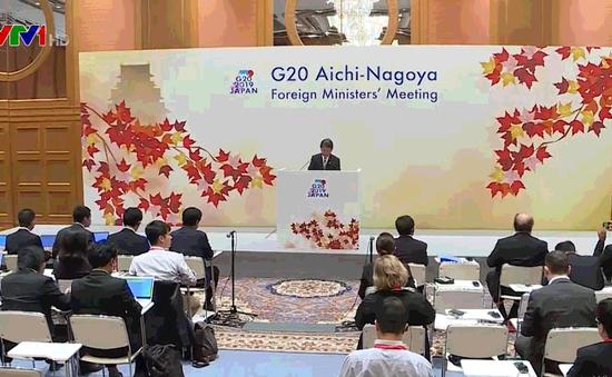 G20 nhất trí thúc đẩy cải tổ WTO