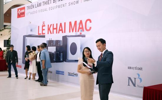 AV Show 2019: Sàn diễn của các thiết bị nghe nhìn hàng đầu khai mạc tại Hà Nội