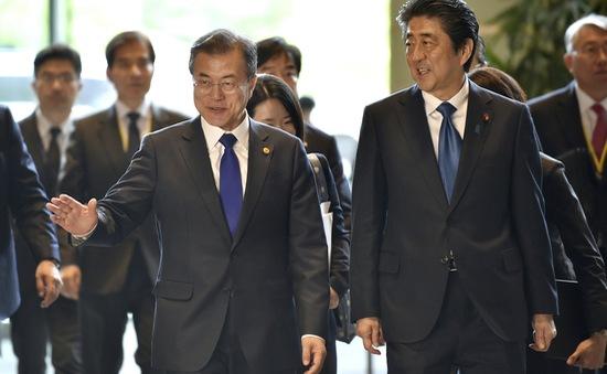 Nhật Bản - Hàn Quốc nhất trí họp thượng đỉnh trong tháng 12
