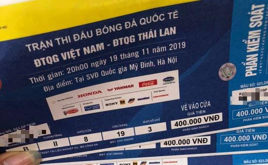 Vụ 1.000 vé giả trận Việt Nam - Thái Lan: Khởi tố bắt giam 3 bị can