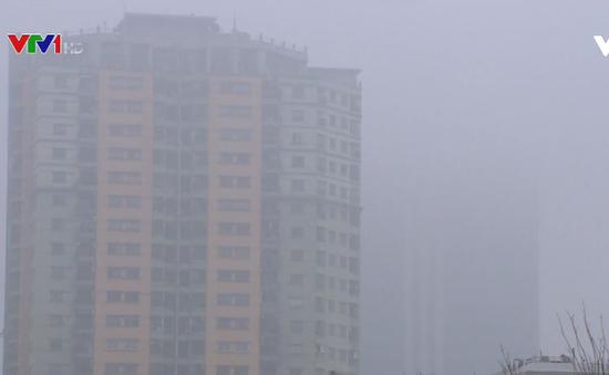 Khó xử lý tình trạng ô nhiễm bụi xây dựng