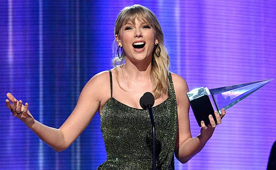 AMAs 2019: Taylor Swift đại thắng, trở thành nghệ sĩ có nhiều giải thưởng nhất trong lịch sử