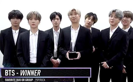 AMAs 2019: BTS mở màn AMAs giành 2 giải thưởng liên tiếp