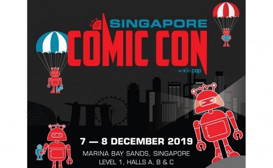Comic Con 2019 sẽ được tổ chức tại Singapore