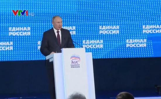 Đảng Nước Nga thống nhất xây dựng cương lĩnh mới hướng tới cuộc bầu cử Duma 2021