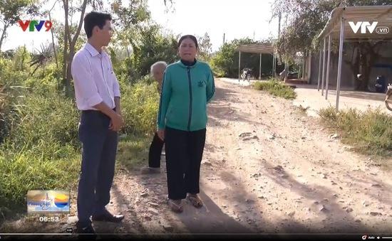 Bình Thuận: Con đường 1,6 km thi công 3 năm không xong