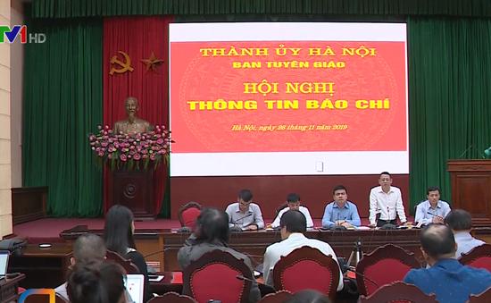 Hà Nội tạm dừng bàn giao mốc giới dự án mở rộng nghĩa trang Thanh Tước