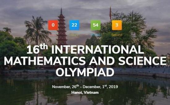 Khai mạc kỳ thi Olympic Toán học và Khoa học quốc tế- IMSO 2019